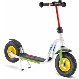 Puky R 03 L Balloon Scooter Kids, white/kiwi
